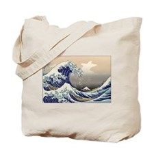 Hokusai The Great Wave Tote Bag