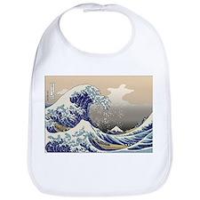 Hokusai The Great Wave Bib