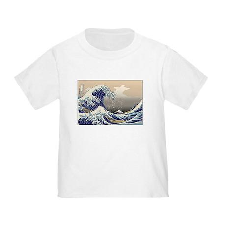 Hokusai The Great Wave Toddler T-Shirt
