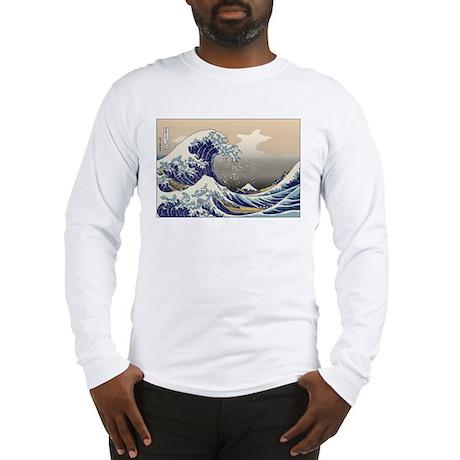 Hokusai The Great Wave Long Sleeve T-Shirt