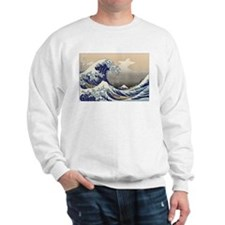 Hokusai The Great Wave Sweatshirt