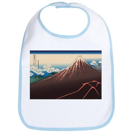 Hokusai Rainstorm Beneath the Summit Bib