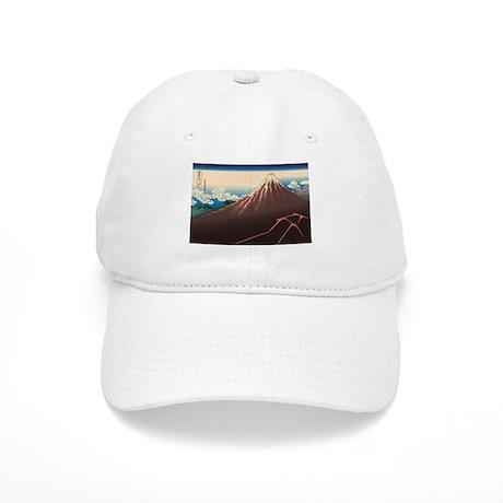 Hokusai Rainstorm Beneath the Summit Cap