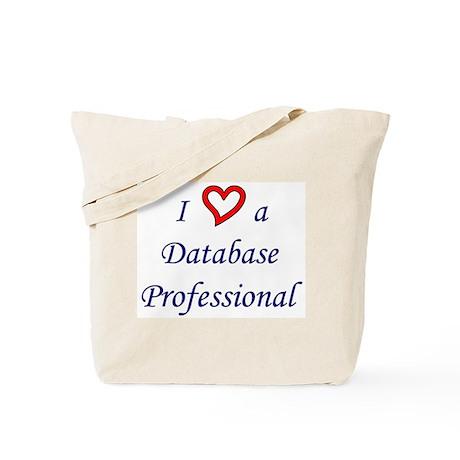 """I Love a DB Pro"" Tote Bag"