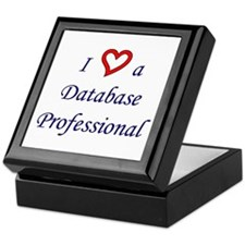 """I Love a DB Pro"" Keepsake Box"