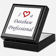 """I Love a DB Pro"" Keepsake Box"