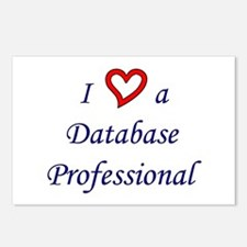 """""""I Love a DB Pro"""" Postcards (Package of 8)"""