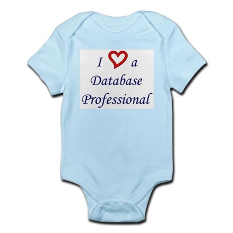 """""""I Love a DB Pro"""" Infant Creeper"""