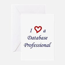 """I Love a DB Pro"" Greeting Cards (Pk of 10)"