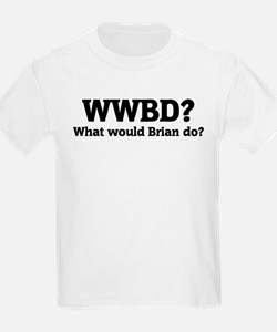 What would Brian do? Kids T-Shirt