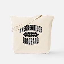 Breckenridge Since 1859 Black Tote Bag