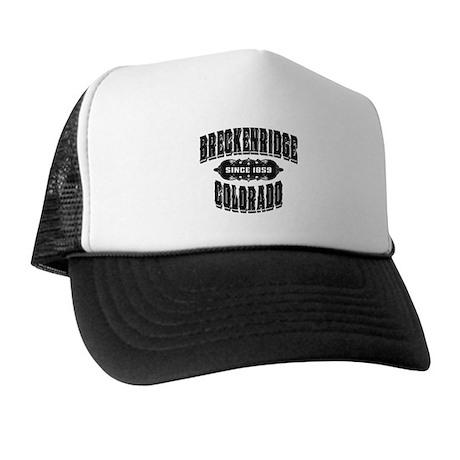 Breckenridge Since 1859 Black Trucker Hat