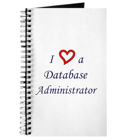 """I Love a DBA"" Journal"