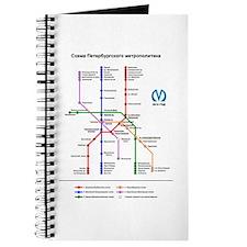 St Petersburg Subway Map Journal