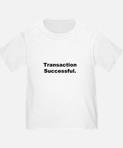 """Transaction Successful"" T"