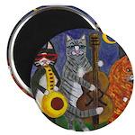 Jazz Cats Magnet