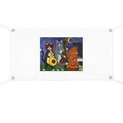 Jazz Cats Banner