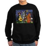 Jazz Cats Sweatshirt (dark)