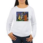 Jazz Cats Women's Long Sleeve T-Shirt