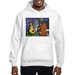 Jazz Cats Hooded Sweatshirt