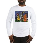 Jazz Cats Long Sleeve T-Shirt