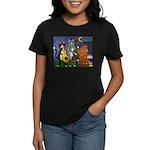 Jazz Cats Women's Dark T-Shirt