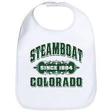 Steamboat Since 1884 Green Bib