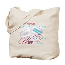 Super Heroes - USCG Wife Tote Bag