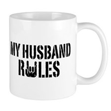 My Husband Rules Mug