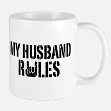 My Husband Rules Mug
