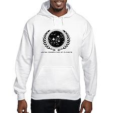Federation Seal (mono) Hoodie