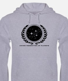Federation Seal (mono) Hoodie