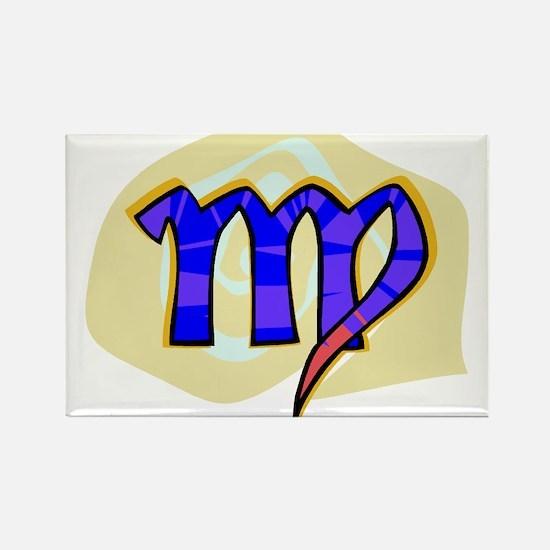 Virgo 2 Rectangle Magnet
