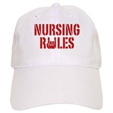 Nursing Rules Baseball Cap