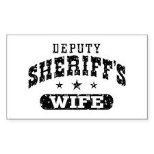 Deputy Sheriff's Wife Decal