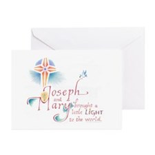 Joseph and Mary Greeting Cards (Pk of 20)