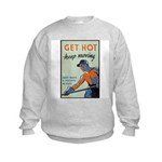 Get Hot Keep Moving (Front) Kids Sweatshirt