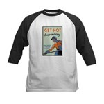 Get Hot Keep Moving Kids Baseball Jersey
