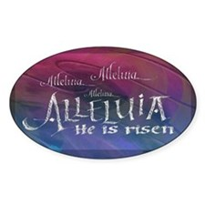 Alleluia calligraphy Decal