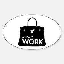 Project Runway Sticker (Oval)