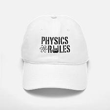 Physics Rules Baseball Baseball Cap