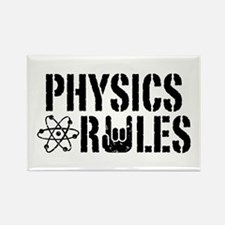 Physics Rules Rectangle Magnet