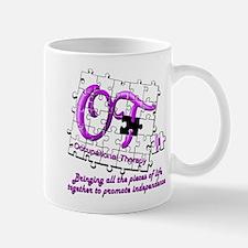 ot puzzle purple Mugs