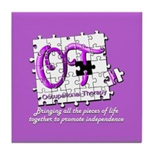 Cool Occupational therapist Tile Coaster
