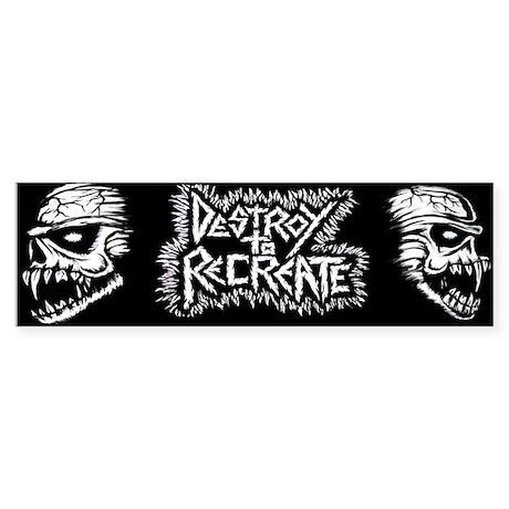 DTR Bumper Sticker