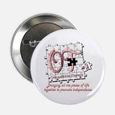 """Funny Occupational therapy 2.25"""" Button (10 pack)"""