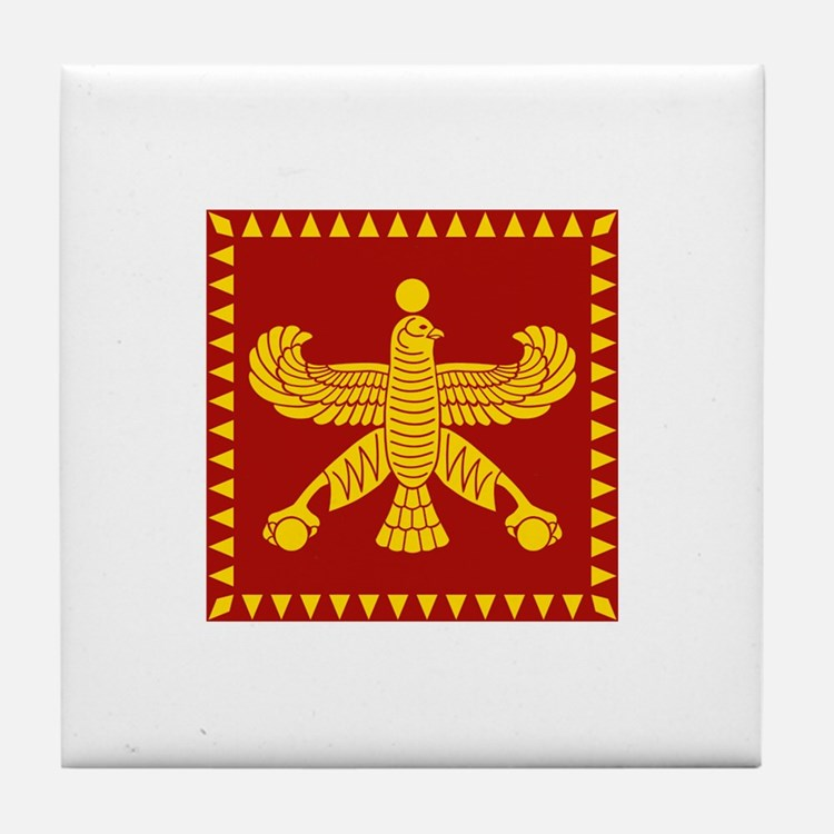 Cyrus the Great Persian Standard Flag Tile Coaster