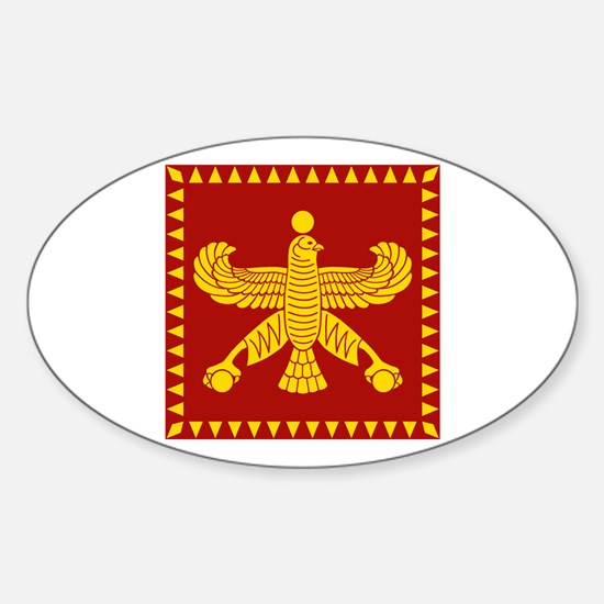 Cyrus the Great Persian Standard Flag Decal