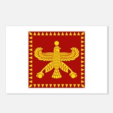 Cyrus the Great Persian Standard Flag Postcards (P