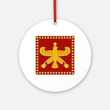 Cyrus the Great Persian Standard Flag Ornament (Ro